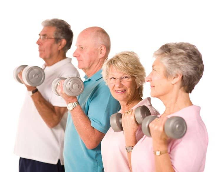 Elderly Strength Training For Seniors