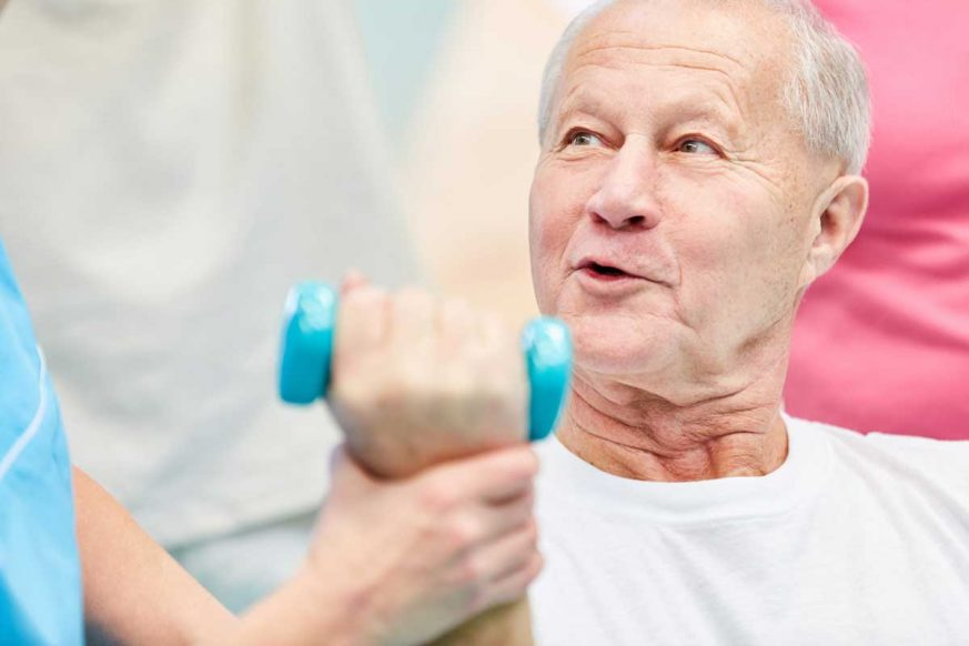Arm Exercises With Weights for Seniors